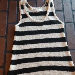 Loft womens tank sweater sleeveless xs